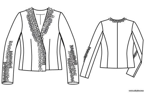 free pattern, выкройка жакета, жакет, pattern sewing, выкройки скачать, шитье, готовые выкройки, выкройки, выкройки бесплатно
