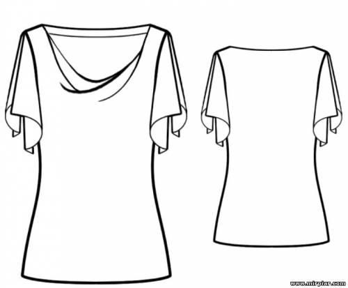 free pattern, выкройки скачать, шитье, Скачать, рукоделие, топ с драпировкой качели, драпировка качели, Блуза, выкройка топа