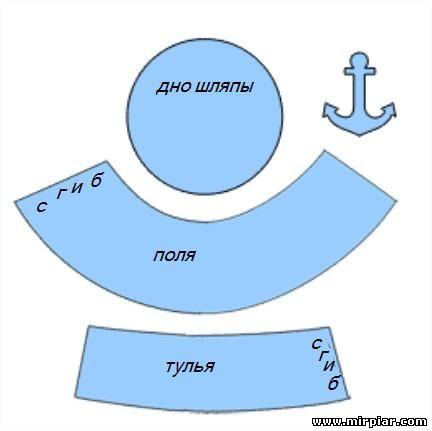 Как сделать шапку пирата своими руками - Шкаф и точка