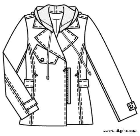 free pattern, куртка, выкройка куртки, pattern sewing, выкройки скачать, готовые выкройки, выкройки верхней одежды, выкройки бесплатно, шитье