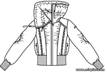 free pattern, выкройки скачать, блузон, куртка, выкройка куртки, pattern sewing, готовые выкройки, выкройки бесплатно, Скачать, шитье