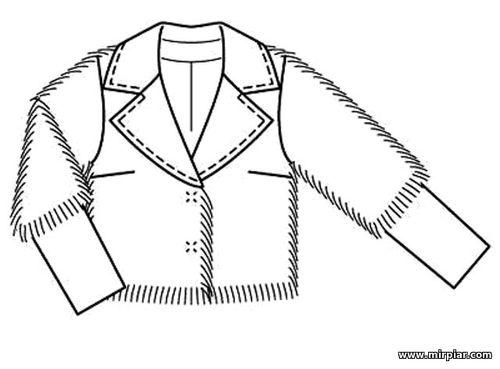 free pattern, меховый жакет, полушубок, pattern sewing, шитье, готовые выкройки, выкройка жакета, выкройка полушубка, выкройки бесплатно, выкройки скачать, Скачать