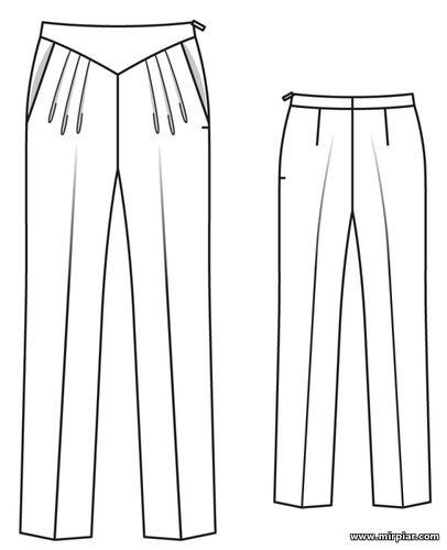 брюки, free pattern, женские брюки, pattern sewing, выкройка брюк, pants, pattern pants, выкройки скачать, шитье, готовые выкройки, раскрой одежды, выкройки бесплатно, Скачать
