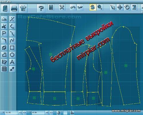 выкройка жакета уроки дизайна шитья вязания и декорирования