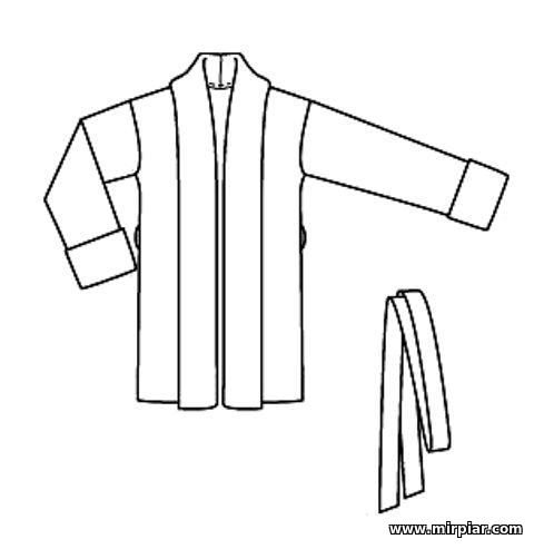 free pattern, жакет, выкройка жакета, pattern sewing, выкройки скачать, готовые выкройки, выкройки бесплатно, шитье, Скачать