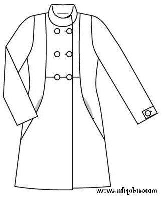 free pattern, пальто, выкройка пальто, pattern sewing, coat, выкройки скачать, готовые выкройки, шитье, выкройки в натуральную величину, Скачать