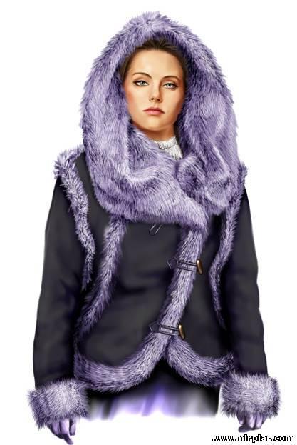 Куртка двусторонняя Дубленка Выкройки бесплатно в натуральную величину