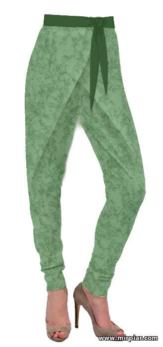 брюки с двойным запахом бесплатные выкройки