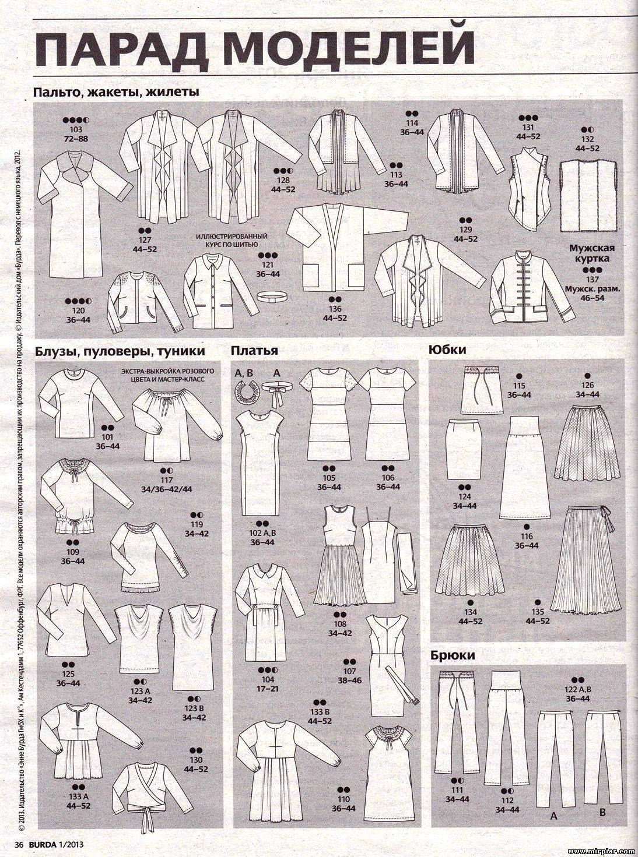 Выкройки летних платьев бурда бесплатно 6