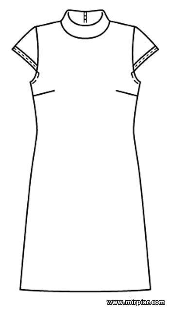 free pattern, платье-футляр, выкройка платья, pattern sewing, выкройки скачать, выкройки платьев, шитье, готовые выкройки, платье, выкройки бесплатно