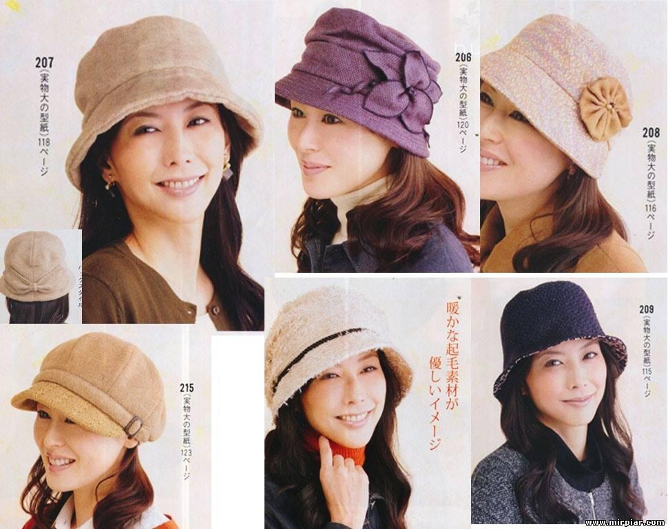 Сшить шапки для женщин 302