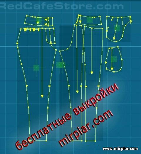 модные женские брюки с легким эффектом галифе