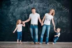 идеи для семейной фотосессии, фото и позы