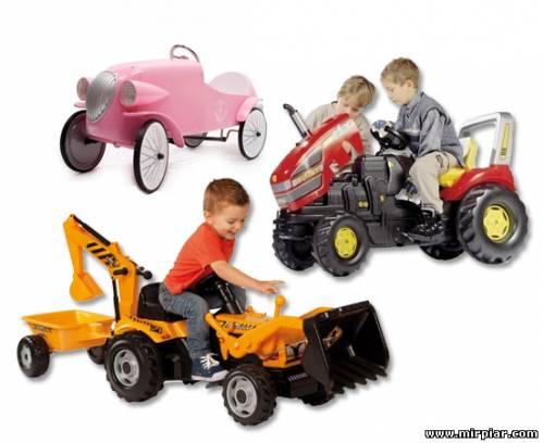 детские машинки на педалях