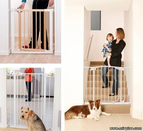 дверное ограждение от детей, детское ограждение в дом