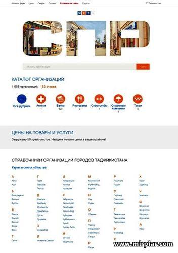 справочник и карты Таджикистана