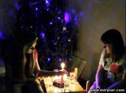 Девушки Как гадать на Рождество