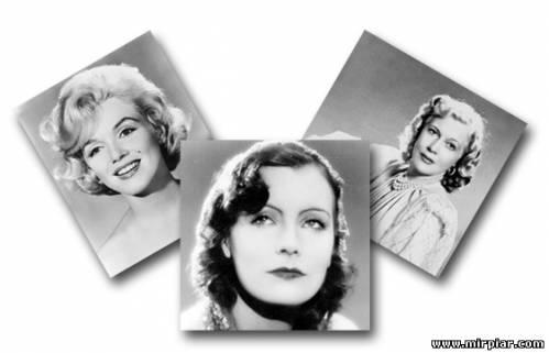 Мэрилин Монро Гретта Гарбо, Любовь Орлова, красота женщины, красота женщины, как похудеть в лице