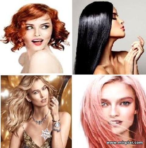цвет волос,символика цвета волос, женщины, цвет