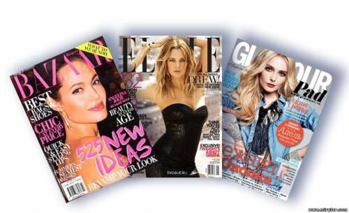 Глянцевые журналы для женщин