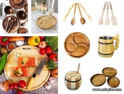 деревянная посуда в Украине
