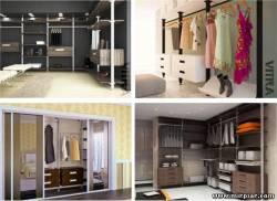 интерьер, гардеробные комнаты