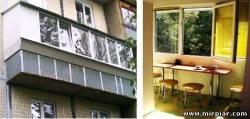 металлопластиковый балкон и лоджия