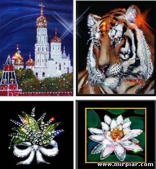 Картины со стразами Сваровски