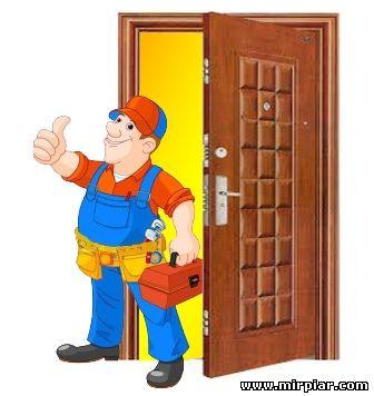 поменять личинку двери
