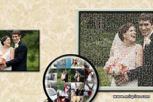 Пример фотопортрета со свадьбы
