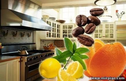 неприятный запах на кухне