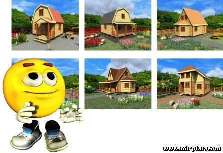 готовые проекты дачных домов бесплатно