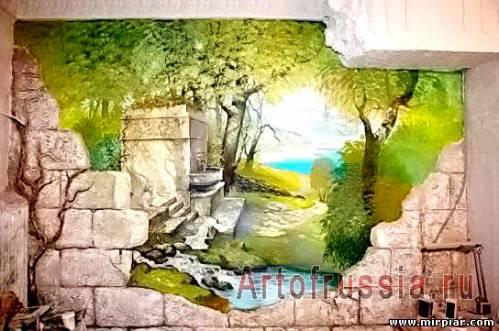 Художественная роспись интерьера