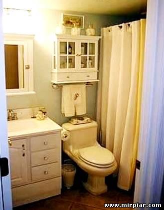 санузел для маленькой квартиры