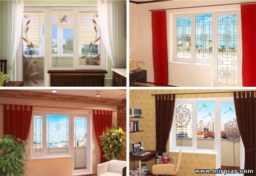Витражные окна, витражи