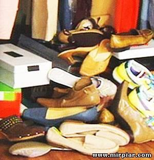 обувь приметы