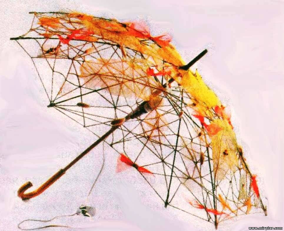 Фото зонт своими руками
