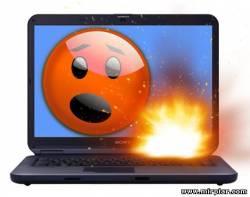 нагревается ноутбук