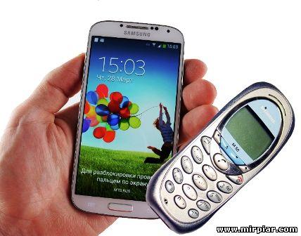 смартфон и мобильный телефон