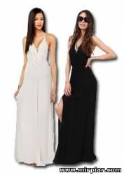 вечерние платья в пол