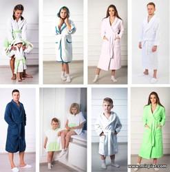 купить махровые халаты