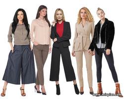 женские брюки, слаксы, галифе, кюлоты, виды женских брюк, Капри, классические брюки, брюки марлен