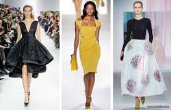 мода, стиль, почему в моде стиль 50-х годов, стиль 50-х годов, модные платья