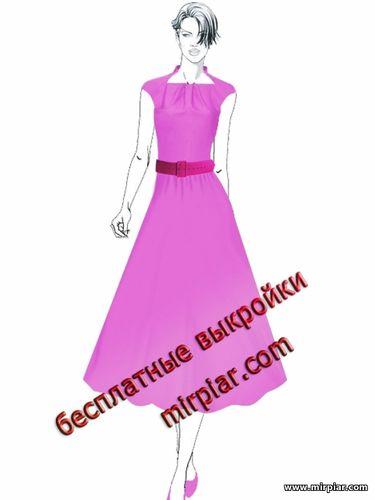 free pattern, выкройки скачать, выкройки платьев, ПЛАТЬЯ, мода, платья в стиле 50-х, рукав ретро,выкройки бесплатно, dresses, Стиль 50-х, pattern sewing