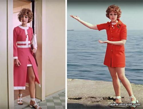 мода, стиль 60-х