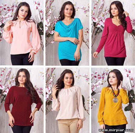 женская одежда, блузы