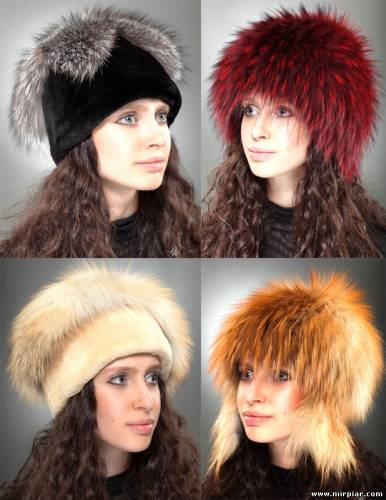 шубы и шапки из меха