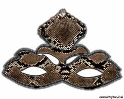 маска змеи быстро и просто