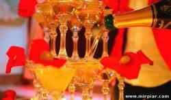 пирамиды шампанского