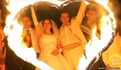 свадьба, подарки, фаер шоу на свадьбу